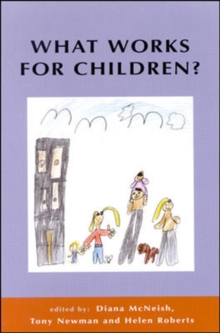 What Works For Children?, Paperback Book