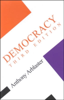 Democracy : Third Edition, Paperback Book