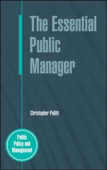 The Essential Public Manager, Paperback Book