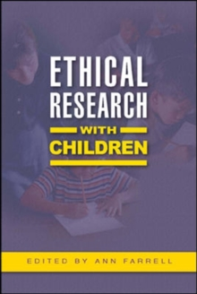Ethical Research with Children, Paperback Book
