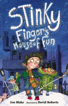 Stinky Finger's House of Fun, Paperback Book