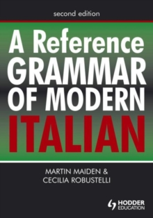 A Reference Grammar of Modern Italian, Paperback Book