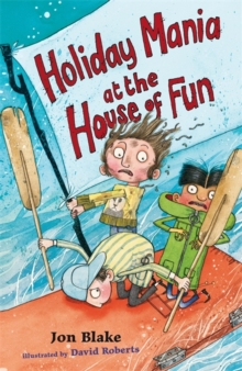 Holiday Mania at the House of Fun, Paperback Book