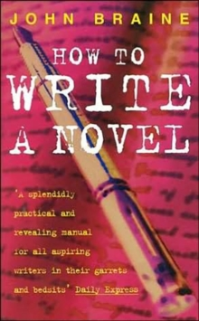 How to Write a Novel, Paperback Book
