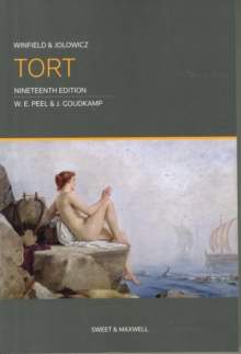 Winfield and Jolowicz on Tort, Paperback Book