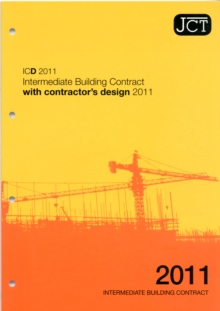 JCT: Intermediate Building Contract with Contractor's Design 2011, Paperback Book