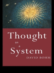 Thought as a System, Paperback Book