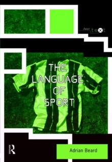 The Language of Sport, Paperback Book