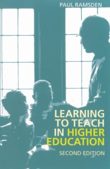 Learning to Teach in Higher Education, Paperback Book