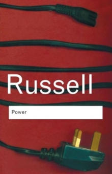 Power : A New Social Analysis, Paperback Book