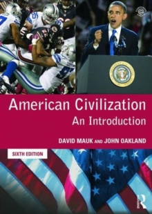 American Civilization : An Introduction, Paperback Book