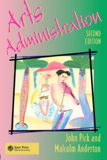Arts Administration, Paperback Book