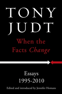 When the Facts Change, Hardback Book
