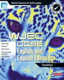 WJEC GCSE English and English Language: Foundation Student Book, Paperback Book