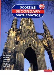 Scottish Secondary Mathematics Red : Supporting Curriculum for Excellence Student Book No. 4, Paperback Book