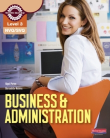 NVQ/SVQ : Business & Administration Candidate Handbook Level 3, Paperback Book