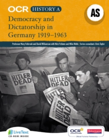 OCR A Level History A : Democracy and Dictatorship in Germany, 1919-1963, Mixed media product Book