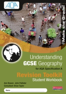 Understanding GCSE Geography for AQA A : Revision Toolkit Student Workbook, Paperback Book