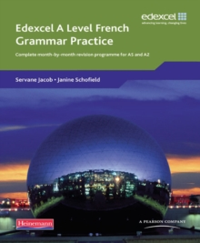 Edexcel a Level French : Complete Month-by-Month Revision Programme for AS and A2 Grammar Practice Book, Paperback Book