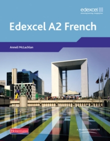 Edexcel A Level French (A2), Mixed media product Book