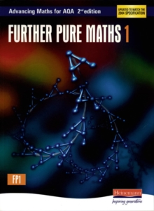 Advancing Maths for AQA: Further Pure 1 (FP1), Paperback Book