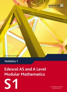 Edexcel AS and A Level Modular Mathematics Statistics 1 S1, Mixed media product Book