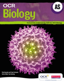 OCR AS Biology Student Book and Exam Cafe CD, Mixed media product Book
