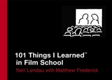 101 Things I Learned in Film School, Hardback Book