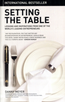 Setting the Table, Paperback Book