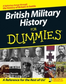 British Military History for Dummies, Paperback Book
