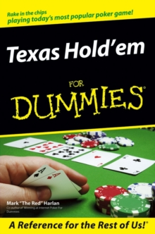 Texas Hold'em for Dummies, Paperback Book