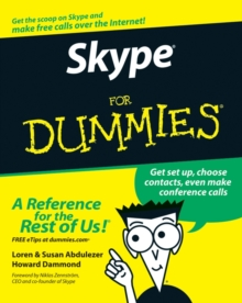 Skype for Dummies (Foreword By Niklas Zennstrom, Ceo and Co-founder of Skype), Paperback Book