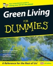 Green Living for Dummies, Paperback Book