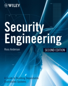 Security Engineering : A Guide to Building Dependable Distributed Systems, Hardback Book
