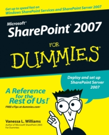 Microsoft Sharepoint 2007 for Dummies, Paperback Book