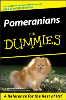 Pomeranians for Dummies, Paperback Book