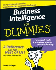 Business Intelligence For Dummies, Paperback Book