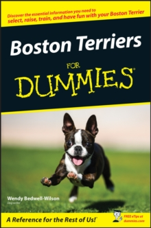 Boston Terriers for Dummies, Paperback Book