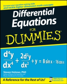 Differential Equations for Dummies, Paperback Book
