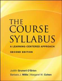 The Course Syllabus : A Learning-centered Approach, Paperback Book