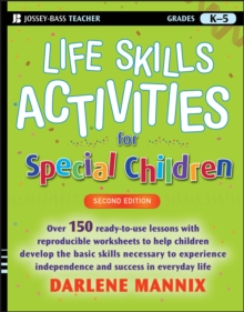 Life Skills Activities for Special Children, Paperback Book