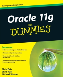 Oracle 11g For Dummies, Paperback Book