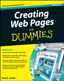 Creating Web Pages for Dummies (R), 9th Edition, Paperback Book