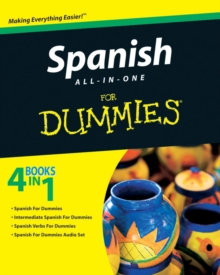 Spanish All-In-One for Dummies, Paperback Book