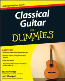 Classical Guitar for Dummies, Paperback Book