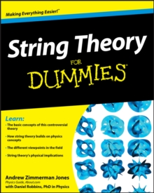 String Theory For Dummies, Paperback Book