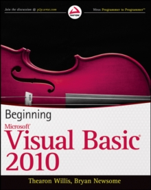 Beginning Visual Basic 2010, Paperback Book