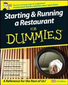 Starting and Running a Restaurant For Dummies, Paperback Book