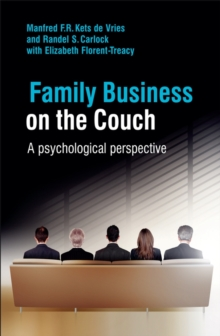 Family Business on the Couch : A Psychological Perspective, Hardback Book
