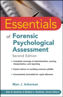 Essentials of Forensic Psychological Assessment, Paperback Book